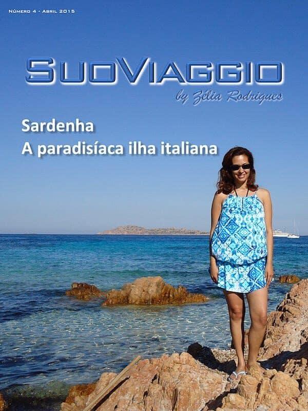 imagem da capa da edição Sardenha A paradisíaca ilha italiana - SuoViaggio N. 4 - Abril 2015 - Ano I