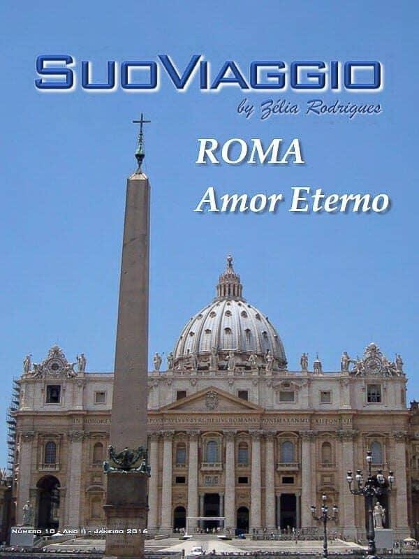 imagem da capa da edição SuoViaggio Roma Amor Eterno