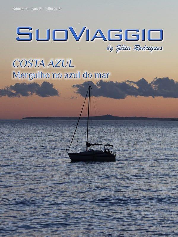 imagem da capa da edição SuoViaggio N. 21 - Julho 2018 - Ano IV