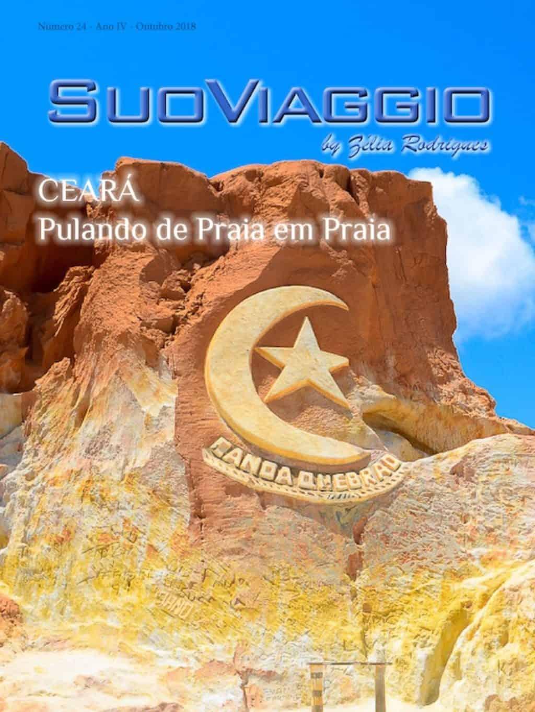 Capa SuoViaggio Rivista N. 24 - Outubro 2018 - Ano IV