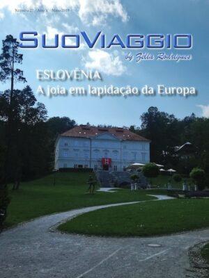 imagem da capa da edição Eslovênia A joia em lapidação da Europa - SuoViaggio Revista N. 27 - Maio 2019 - Ano V
