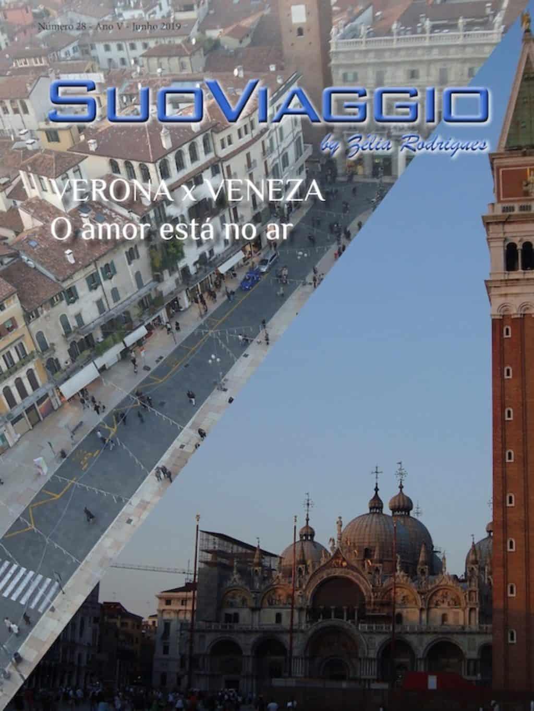 Capa SuoViaggio Revista N. 28 - Junho 2019 - Ano V