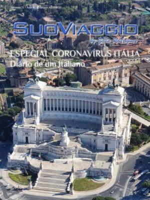 Capa SuoViaggio Revista N. 31 -Março e Abril 2020 - Ano VI