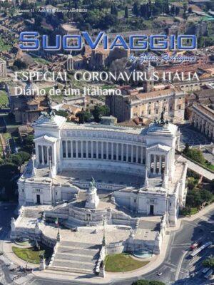 imagem da capa da edição Especial Coronavirus na Itália - SuoViaggio N. 31 - Março e Abril 2020 - Ano VI