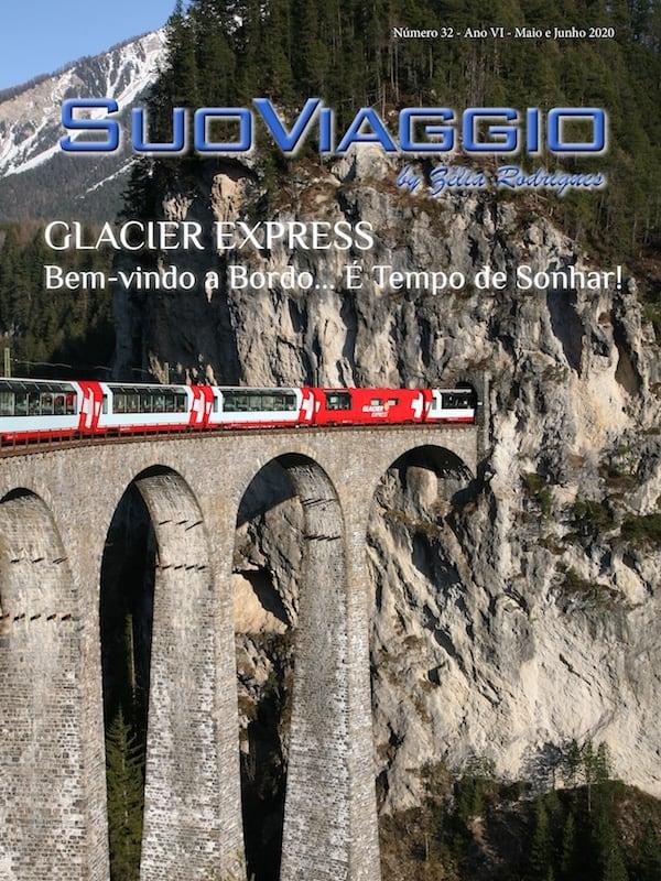 Capa SuoViaggio Revista N. 32 - Maio e Junho 2020 - Ano VI