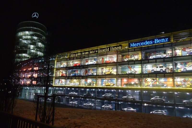 Munique - Merceds Benz - SuoViaggio©