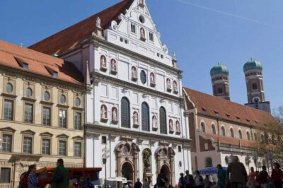 Michaelskirche em Munique Alemanha