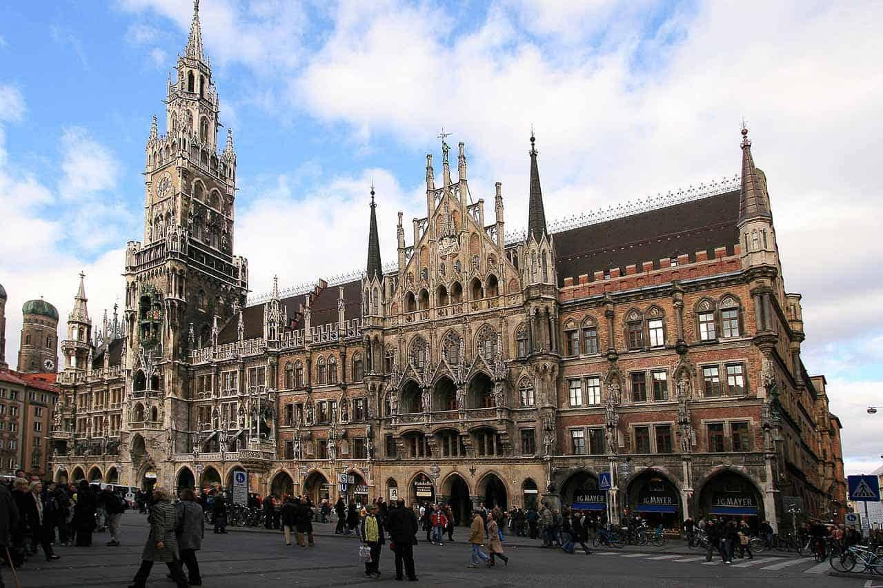Neues Rathaus Catedral Munique Alemanha