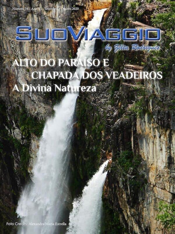 Alto do Paraíso e Chapada dos Veadeiros A Divina Natureza - SuoViaggio N. 34 - Setembro e Outubro 2020 - Ano VI