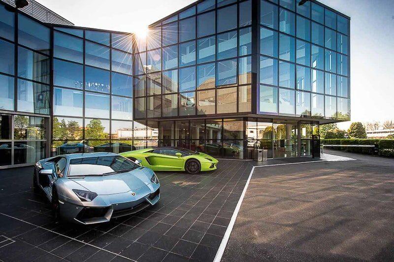 Bolonha Fabrica Lamborghini