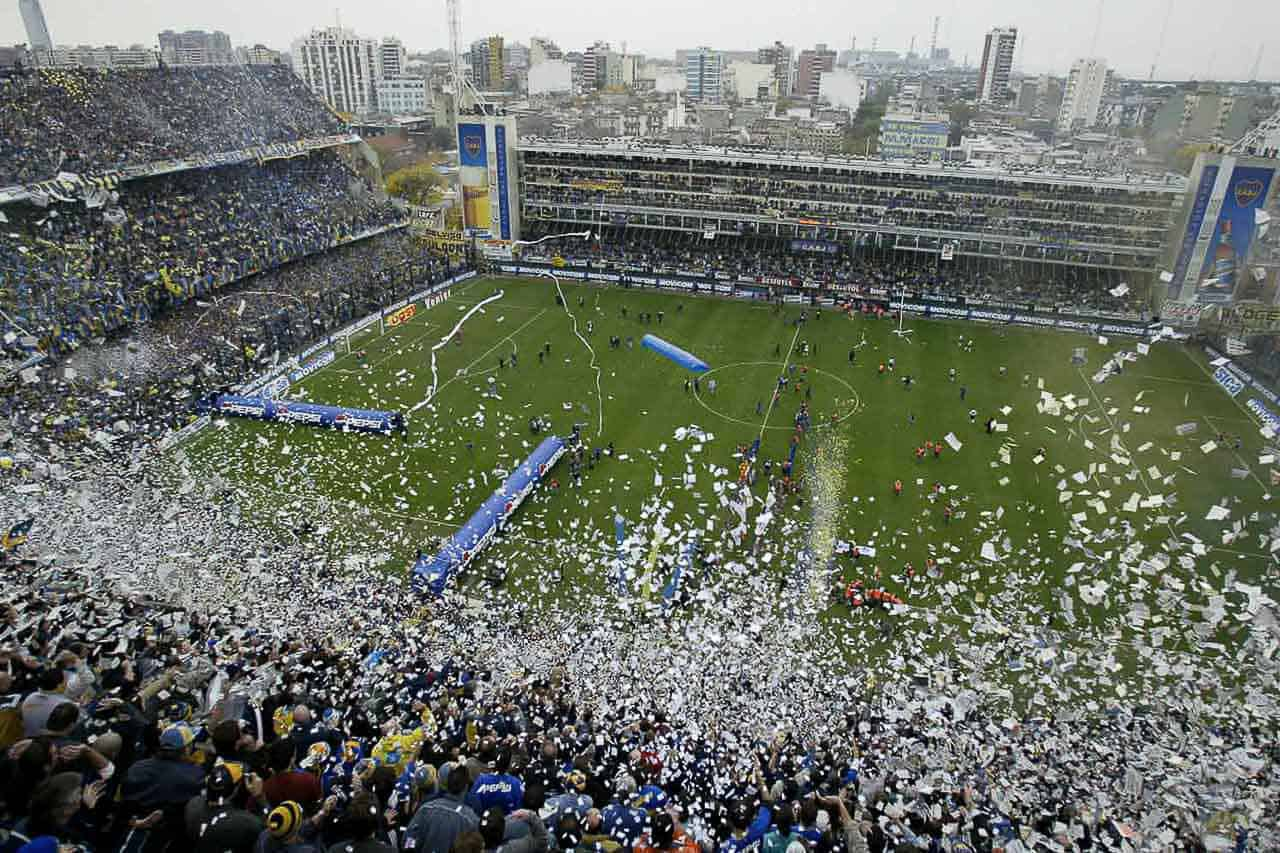 Argentina Buenos Aires Estadio Boca Junior - SuoViaggio
