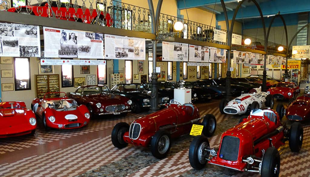 Modena Museu Umberto Panini Maserati