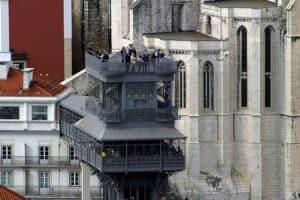 Lisboa Elevador de Santa Justa