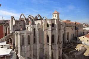 Lisboa Igreja e Mosteiro do Carmo