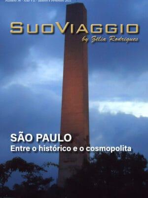imagem da capa da edição SuoViaggio N. 36 - Janeiro e Fevereiro 2021 - Ano VII