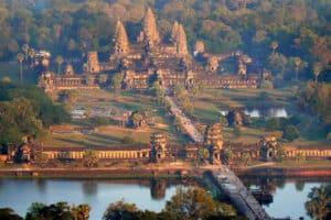 imagem do Angkor Wat Camboja