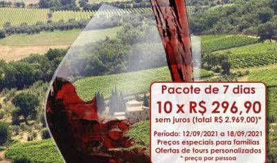 Pacote Serra Gaúcha 3 em 1