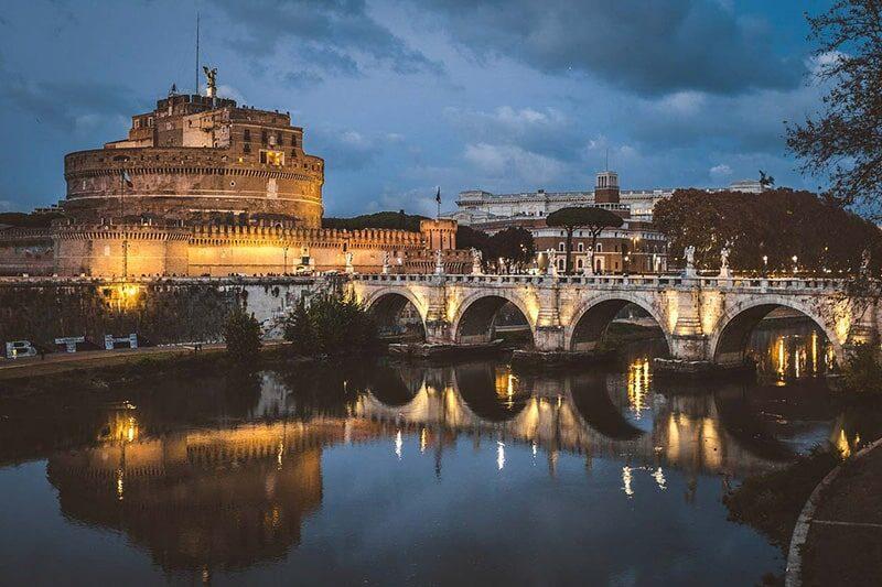 imagem de Roma Castel Sant'Angelo - SuoViaggio©