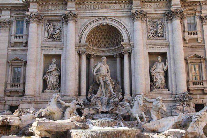 imagem de Roma Fontana di Trevi - SuoViaggio©