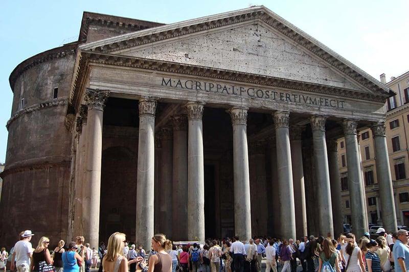 imagem de Roma Pantheon - SuoViaggio©