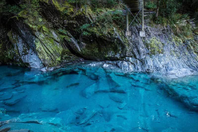 Nova Zelândia Blue Pools Track