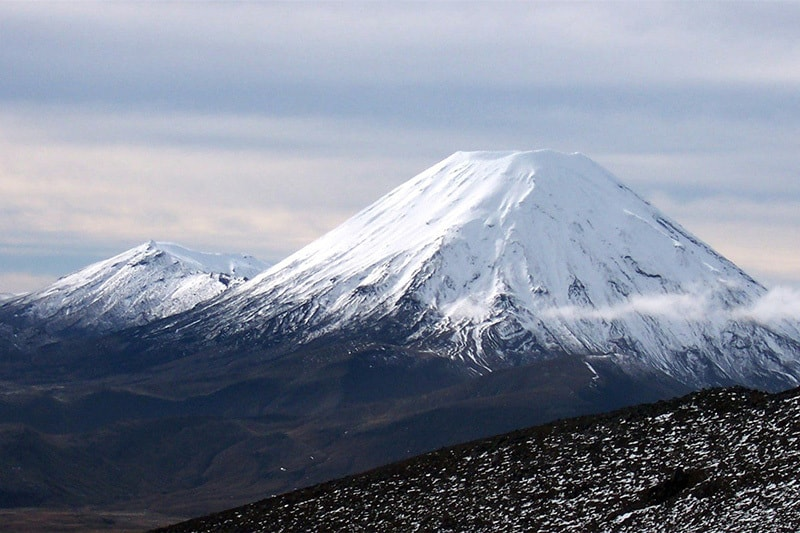 nova zelandia parque nacional tongariro monte ruapehu