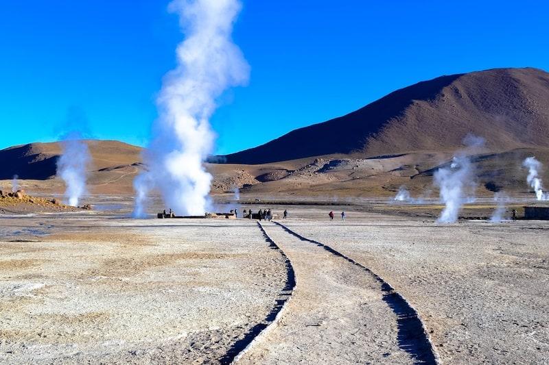 Geysers De Tatio Atacama Chile - Foto: Michelle Branco