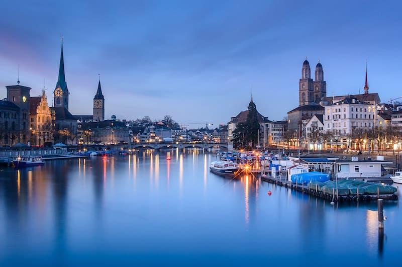 Cruzeiros em Zurique - Foto: kuhnmi