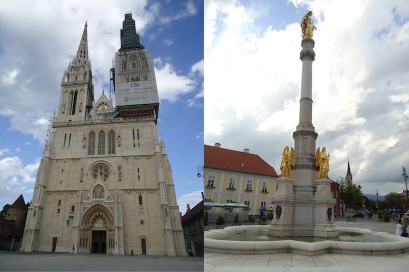 Zagreb Catedral de Santo Estevão