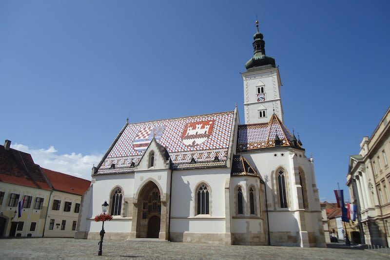 Zagreb Igreja de São Marcos