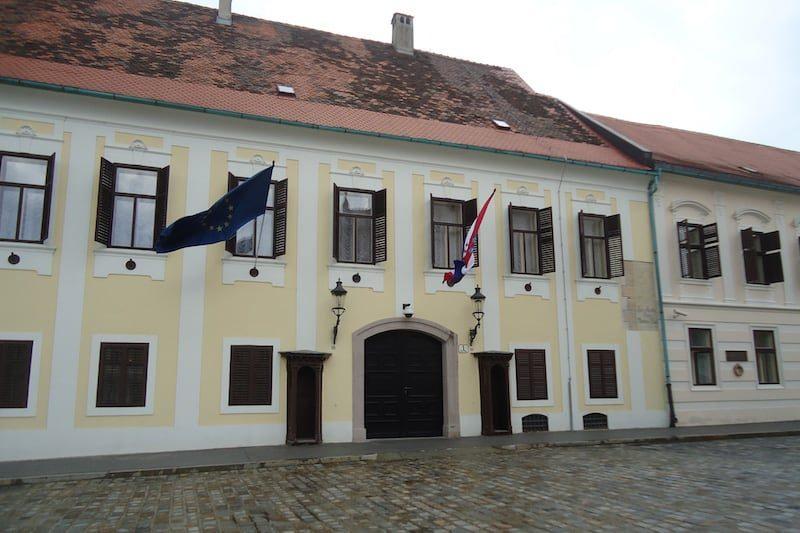 Zagreb Palácio do Ban