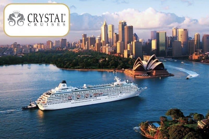 Crystal Cruises ZAffiro Viagens SuoViaggio