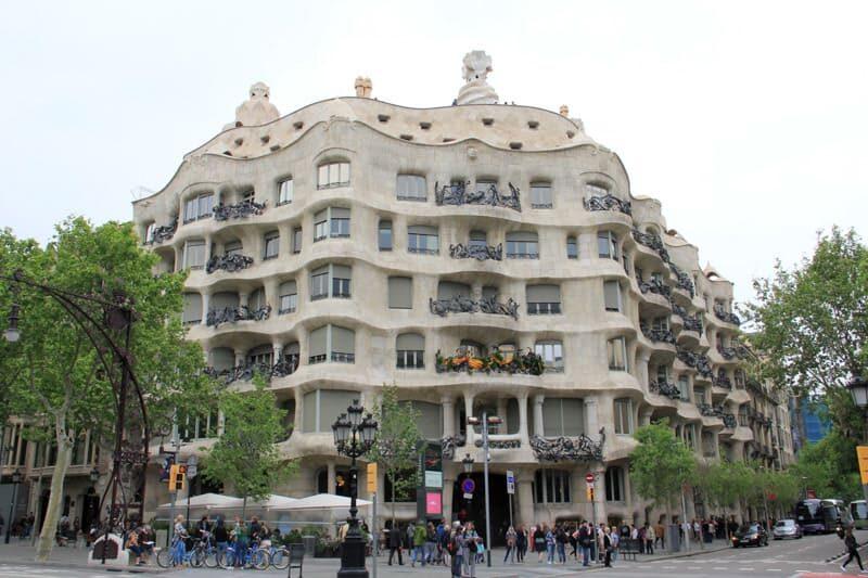 Barcelona Casa Milá - Foto: SuoViaggio©