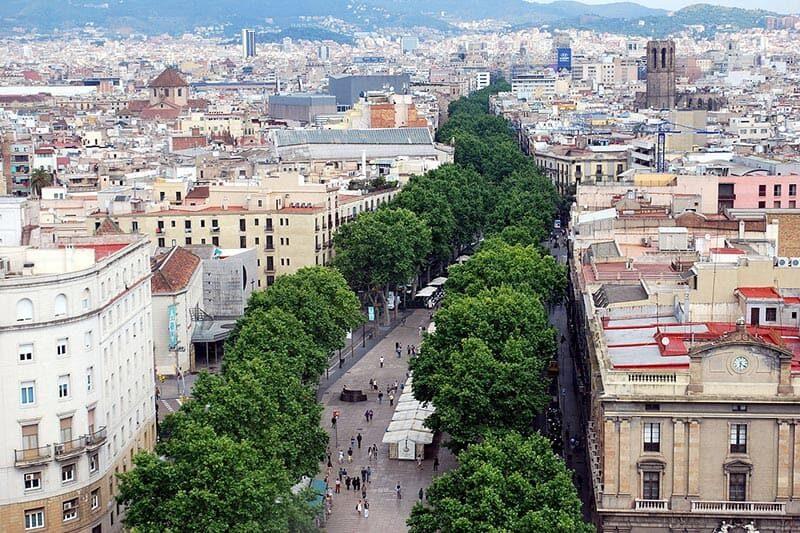 Barcelona Las Ramblas - Foto: Nikos Roussos