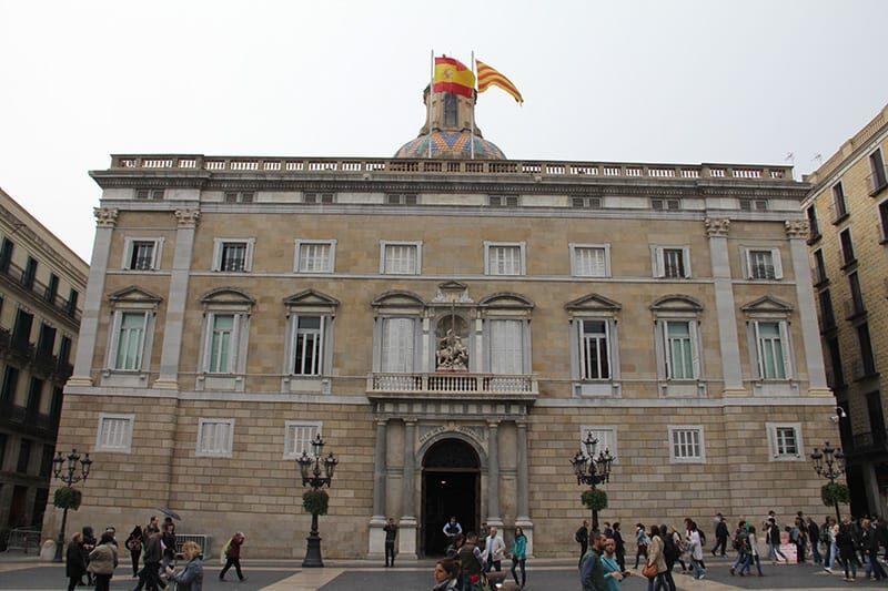 Barcelona Palau de la Generalitat - Foto SuoViaggio©