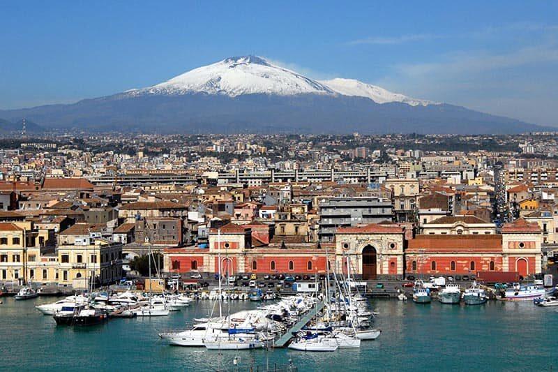 Vulcão Etna Catania