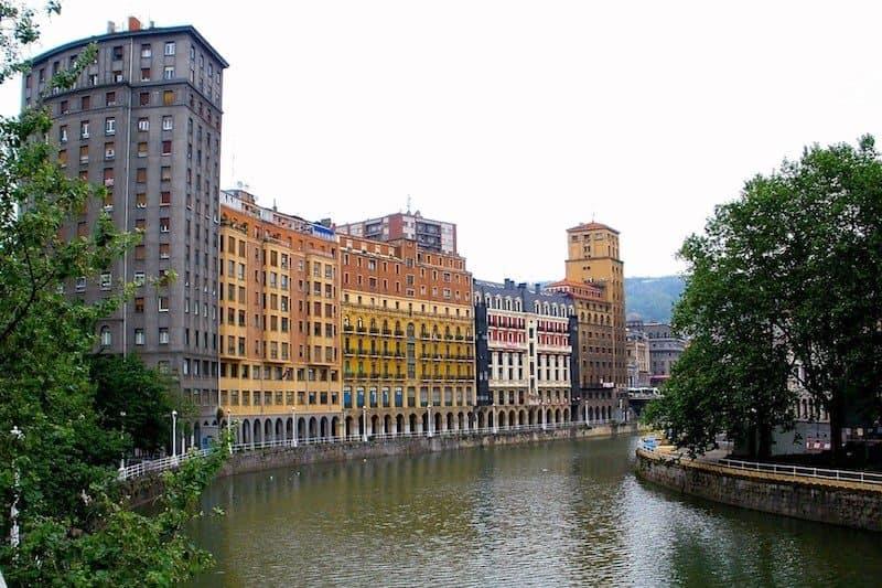 Cruzeiros em Bilbao