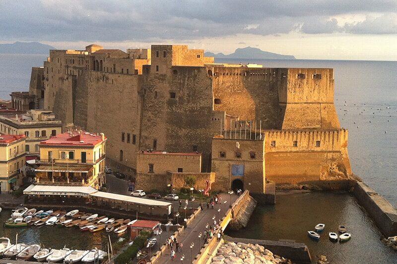 Nápoles Castel dell'Ovo