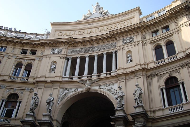 Nápoles Galleria Umberto I