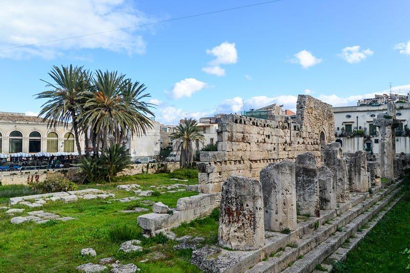 Siracusa Templo de Apollo